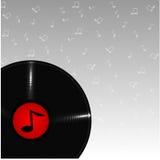 Музыкальная плита Иллюстрация штока