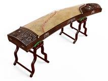 Музыкальный инструмент деревянного dulcimer традиционный. бесплатная иллюстрация