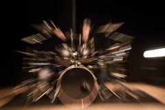 Музыкальный инструмент, набор барабанчика на этапе Стоковое Фото