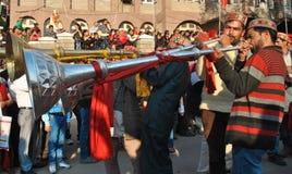 Музыкальный инструмент людей Himachal Стоковое фото RF