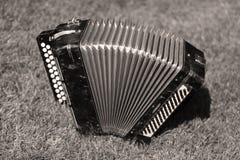 Музыкальный инструмент Bayan традиционный Стоковое Изображение