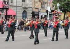 Музыкальный парад улицы стоковая фотография