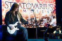 Музыкальный фестиваль Topfest 2015, Piestany, Словакия Стоковое Изображение