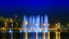 Музыкальный фонтан стоковая фотография