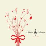 Музыкальный цветок Стоковое Изображение