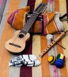 Музыка Южная Америка Стоковое фото RF