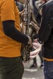 Музыки улицы внешние стоковые фото