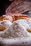 Мука и хлеб Стоковые Изображения RF