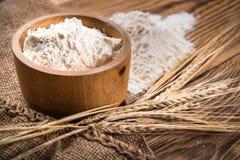 Мука от твердой пшеницы Стоковая Фотография RF