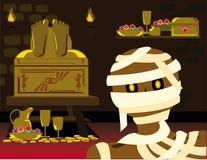 Мумия хеллоуина Стоковые Фото