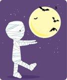 мумия costume мальчика Стоковые Изображения