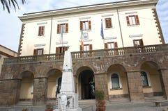 Муниципалитет и гражданский музей Романо Trevignano стоковые фото