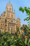 Муниципальная корпорация строя BMC в Мумбае, Индии стоковые фотографии rf