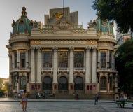 Муниципальный театр Cinelandia стоковые фото