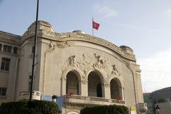 Муниципальный тип Тунис Nouveau искусства театра Стоковая Фотография