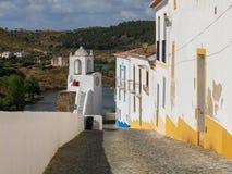 Муниципалитет Mertola в юговосточной Португалии рядом с Испанией стоковое фото