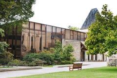 Муниципальная библиотека внутри злит, Франция Стоковое Фото