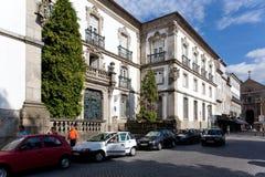 Муниципальная библиотека города Браги, Португалии Стоковое фото RF