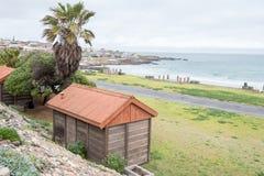 Муниципальные кемпинги в Strandfontein стоковое фото