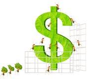 Муравеи финансовохозяйственные Стоковая Фотография