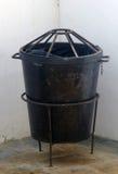 Мусорный бак металла Стоковая Фотография