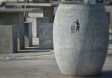 Мусорный бак - мусорная корзина Стоковые Изображения