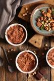 Мусс шоколада Vegan стоковое фото