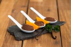 Мусс шоколада Стоковое Изображение