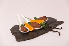Мусс шоколада Стоковые Фотографии RF