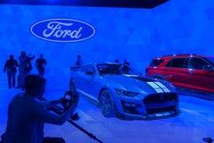 Мустанг 2020 кобры Форда Shelby GT500 стоковые изображения rf