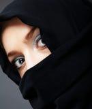 мусульманская женщина Стоковые Изображения
