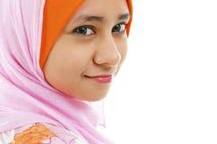 мусульманская женщина стоковое фото