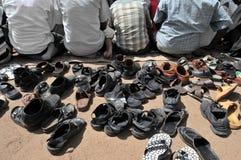 мусульманская молитва стоковая фотография rf