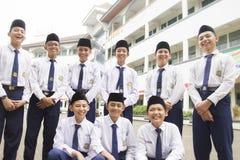 Мусульманские студенты стоковая фотография rf