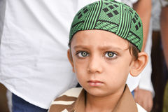 Мусульмане празднуя al-Fitr Eid который отметит конец месяца Рамазана Стоковые Изображения RF