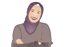 Мусульманская девушка Стоковые Фото