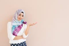Мусульманская женщина Стоковая Фотография RF