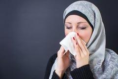 Мусульманская женщина Стоковые Фотографии RF