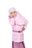 Мусульманская маленькая девочка Стоковые Изображения RF