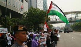 Мусульманские протестующие Стоковая Фотография RF