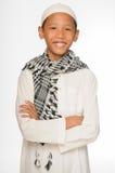 Мусульманский мальчик Стоковые Изображения