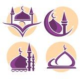 Мусульманский логотип иллюстрация вектора