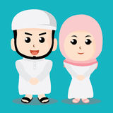 Мусульманский характер Стоковая Фотография RF