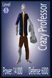Мутант Worrior Ninja Иллюстрация карточки игроков Стоковое Фото