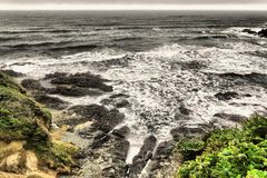 Мутьевые океаны Стоковая Фотография