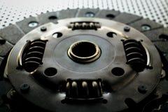 Муфта автомобиля на поверхности металла Стоковые Изображения RF