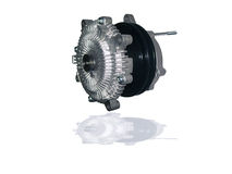 Муфта охлаждающего вентилятора двигателя Стоковое Изображение RF