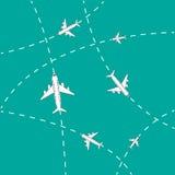 Муха самолета бесплатная иллюстрация