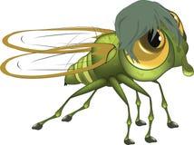 муха шаржа Стоковые Изображения RF