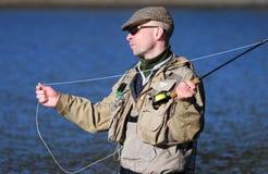 муха fisher стоковое фото